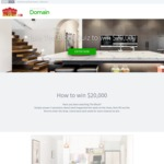 Win $20,000 Cash from Domain
