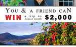Win a Tassie Escape for 2 Worth $2,000 from Wildiaries/Frank's Cider/Belle Miners