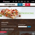 Free Extra Cheese on Any Pizza @ Domino's