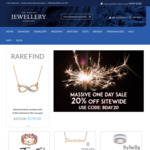 20% off Site Wide (Including Sale Items) @ The Online Jewellery Company