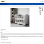 IKEA GONATT Cot, Light Grey $99 (RRP $399)