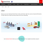 Earn 2,000 Qantas Points on Your First Uber Ride [New Users]