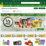 Bonus 6000pts with $50/Week Spend for 4 Weeks + Extra 2000pts with $80 Pick Up @ Woolworths