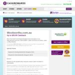 Increased Cashrewards Cashback @ Woolworths: Existing Customers $5 (Min Spend $50), New Customers $25 (Min Spend $100)