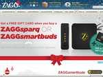 Free Gift Card when you buy a ZAGGsparq or ZAGGsmartbuds