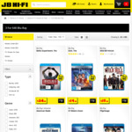 Blu-Ray Titles 3 for $40 @ JB Hi-Fi