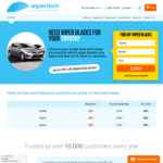Wipertech Aeroflex Wiper Blades for Toyota Camry & Aurion (Front Pair) $25 Delivered - Wipertech.com.au