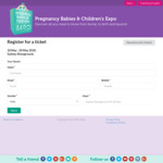 [SYD / BNE] Free Ticket to Pregnancy & Baby Expo in Sydney (May) and Brisbane (June) - Save $20
