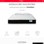 SleepMaker Just Sleep Mattresses: Queen Mattress from $199, Queen Pocket Spring Mattress from $399 Delivered @ Sleepy's Express