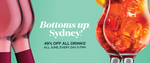 [NSW] 49% off Drinks at Merivale Bars 5pm-7pm in June (Sydney)