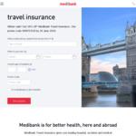 18% off Medibank Travel Insurance