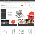 Kitchen Warehouse $20 off When You Spend $50