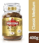 Moccona Classic Coffee Freeze Dried 400gm $15 @ Coles