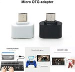 Micro USB OTG Adapter US $0.19 (AU $0.27) Inc. GST Delivered at AliExpress
