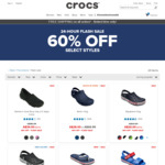 Crocs 60% off Selected Styles, Modi Sport Flip $20 (Was $49.99) @ Crocs Australia