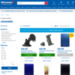 Cleanskin Screen Protector/Tempered Glass - Various Devices @ Officeworks $1 (Instore Only)