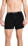 100% Cotton Mens' 2 Buttons Boxer Short - Various Colours $5.99 (Was $39.99) Free C&C (or + Delivery) @ Tarocash