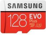 Samsung EVO Plus 128GB 4K microSDXC Memory Card $31.73 AUD @ Zapals