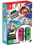 [Switch] Super Mario Party + Green and Neon Pink Joy-Con Controller Set $134.95 ($128.20 with GC) C&C + Delivery @ EB Games eBay