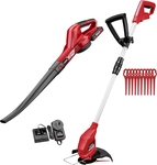 Ozito Power X Change 18V Blower & Grass Trimmer Kit $99 (Was $149) @ Bunnings
