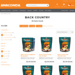 Back Country Cuisine Freeze Dried Food 3 for $30 (Was $60) @ Anaconda (Adventure Club Members)