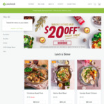 $20 off @ Youfoodz. Min. Spend $59
