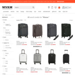 Monsac Luggage Approx 70% off @ Myer - Online or Click or Collect