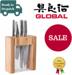 Global Teikoku 5 Piece Knife Block Set $197.99 @ Value Village eBay