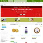 15% off Selected Beauty + 15% Cashback from Shopback @ iHerb