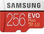 [eBay Plus] Samsung EVO Plus 256GB Micro SD Card $64 Delivered @ Futu Online eBay