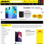Huawei P30 $199 | P30 Pro $699 Upfront (Bonus Sonos One Smart Speaker) with Telstra $65 Sim Only Plan 24M Contract @ JB Hi-Fi