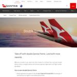 Earn Double Qantas Points on Eligible Flights