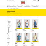 Men's T-Shirts from $2.45, Shirts or Shorts $5.95 (Multiple Styles/Colours/Sizes) @ Rivers (C&C)