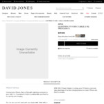 Apple USB-C to Lightning Cable $17 1m (C&C Only) @ David Jones