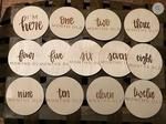 Buy One, Get One 50% off Baby Milestone Discs (RRP Baby Milestone Discs 1 Set $34.95) @ Laser Cut Crafts
