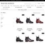 30% off RM Williams Boots (e.g. Comfort Craftsman $416.50) @ David Jones