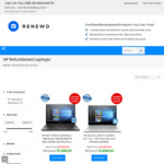 [Refurb] $150 off HP Laptops with 1 Year HP Warranty - Envy $1149, Spectre $1749 Delivered @ Renewd