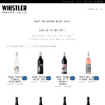 Up to 50% off @ Whistler Wines | 2018 Fruit Tingle Frizzante $11 (Was $22) + Delivery (Free with $180+ Spend) |