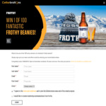 Win 1 of 100 Frothy Beanies Worth $30 from Cellarbrations/The Bottle-O/IGA Liquor