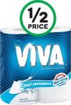 Viva Paper Towel 2 Pack $1.75 @ Woolworths