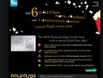 6 Gold Class Movie Vouchers + Complimentary Domestic Return Flights (AMEX Credit Card)