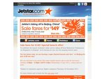 Jetstar Sale - Melb to Beijing, book Wed 13th Jul 3.30pm to 5.30pm AEST $149 one way