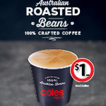 [VIC] Free Small Coffee or Tea, Friday (11/10) @ Coles Express
