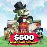 Win $500 Worth of Board Games from The Board Gamer