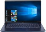 "Acer Swift 5 15.6"" (i5/8GB/256GB SSD) Windows 10 Home Laptop - Blue - $1278 @ Harvey Norman"