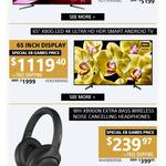 """Sony 4K UHD 65"""" X8000G $1119.40, 75"""" X9500G $3119.40 Shipped @ EB Games"""