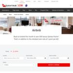 500 Bonus Qantas Frequent Flyer Points + 1 Point Per $1 Spent on Airbnb Stays @ Qantas
