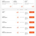 Syd <> Mel (Avv) $29, Mel <> Hob $41, Bris <> Cns $59, Mel <> Per $139, Syd - Fiji $169 and More @ Jetstar