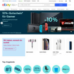 €10 (~$16.29 AUD) off €50 (~$81.45 AUD) Spend Sitewide Using VISA @ eBay Germany (Excludes Gift Cards)