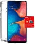Vodafone Samsung Galaxy A20 + Cygnett Clear Case $179 @ Big W